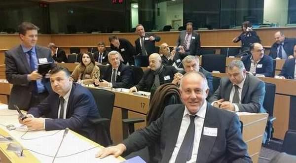 Σημαντικό εργαλείο τα ευρωπαϊκά προγράμματα Θετικά τα αποτελέσματα της επίσκεψης του δημάρχου στις Βρυξέλλες