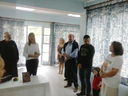Αγιασμός στους Παιδικούς Σταθμούς του Δήμου Ρήγα Φεραίου