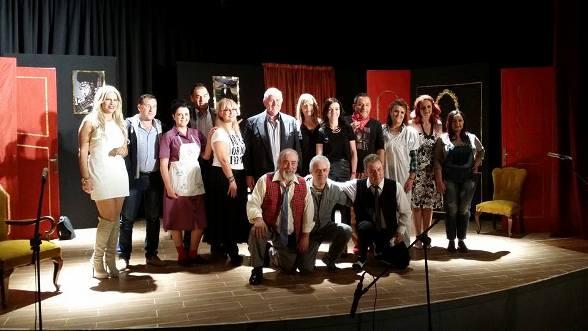 1ο Φεστιβάλ Ερασιτεχνικών Θεατρικών Ομάδων, Δήμου Αλμυρού με την θεατρική ομάδα «Κεραμιδόγατοι» με το έργο «Μύλος, πόρτες και σαρδέλες»