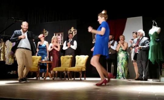 1ο Φεστιβάλ Ερασιτεχνικών Θεατρικών Ομάδων, Θεατρική ομάδα Δήμου Ρήγα Φεραίου με το έργο «Οι κληρονόμοι»