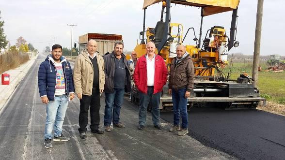 Oλοκληρώνεται και παραδίδεται αρχές του 2016 το έργο «Ασφαλτοστρώσεις Οδών Τ.Δ. Στεφανοβικείου Δήμου Κάρλας»