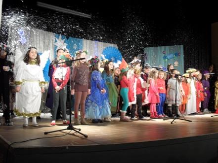 Χριστουγεννιάτικη θεατρική παράσταση των ΚΔΑΠ