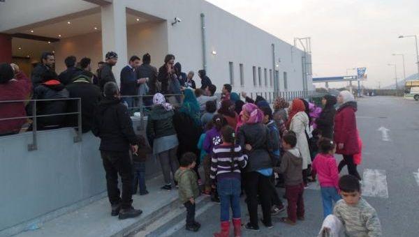 Ανακοίνωση για βοήθεια στους πρόσφυγες