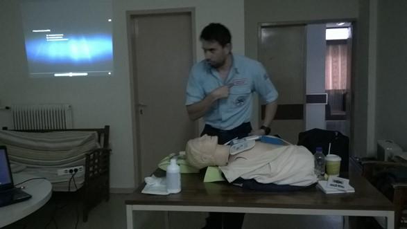 Σεμινάριο Πρώτων Βοηθειών και Εξωτερικού Απινιδωτή στο Δήμο Ρήγα Φεραίου