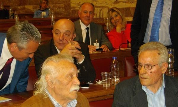 Ο Δήμαρχος Ρήγα Φεραίου σε εκδήλωση στη Βουλή των Ελλήνων για κατοχικά εγκλήματα πολέμου και οφειλές