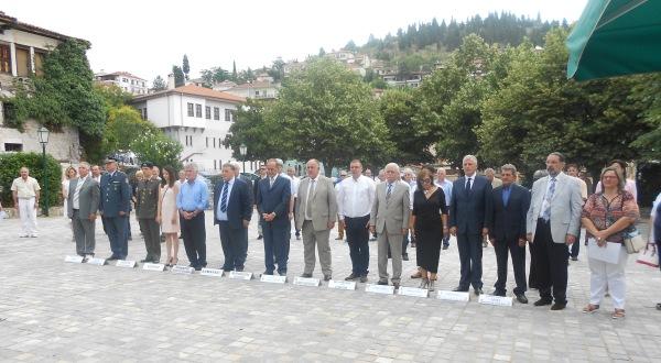 Ο Δήμαρχος Ρήγα Φεραίου στις εκδηλώσεις τιμής – μνήμης για τους Καστοριανούς Αδελφούς Εμμανουήλ συντρόφους του ΡΗΓΑ ΒΕΛΕΣΤΙΝΛΗ