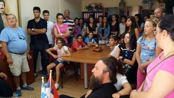 Επίσκεψη Παιδικής Χορωδίας Ι.Ν. Αγ. Βησσαρίωνα Φιλιππιάδας στο Δήμο Ρήγα Φεραίου
