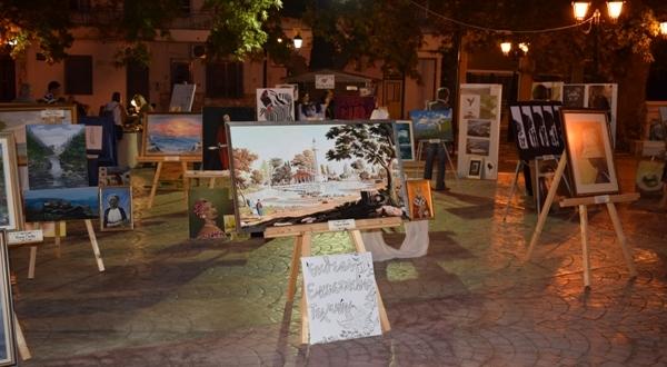 Έκθεση Εικαστικών Τεχνών στο Δήμο Ρήγα Φεραίου