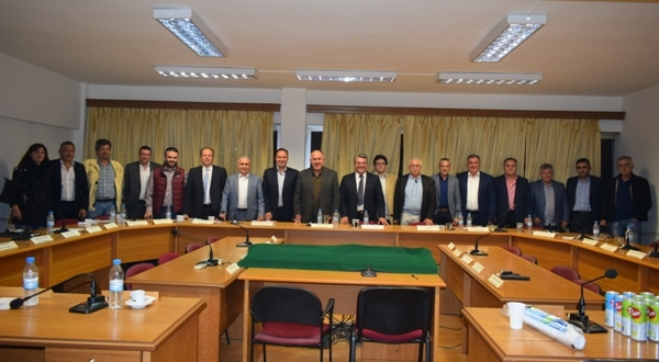 Διοικητικό Συμβούλιο της ΔΕΠΑΝ (Δίκτυο Ελληνικών Πόλεων για την Ανάπτυξη – Διαδημοτική Συνεργασία) στο Δήμο Ρήγα Φεραίου