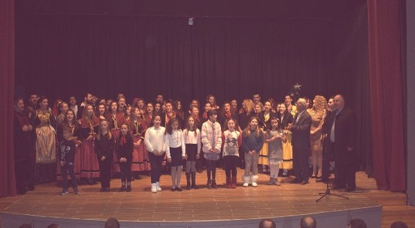 Χριστουγεννιάτικη εκδήλωση του Δήμου Ρήγα Φεραίου για την ενίσχυση του κοινωνικού παντοπωλείου