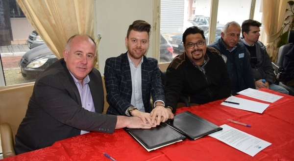 Υπογραφή συμφώνου συνεργασίας μεταξύ του ΚΕΠ Υγείας Δήμου Ρήγα Φεραίου και του σωματείου κινητικά αναπήρων «Ιππόκαμπος»