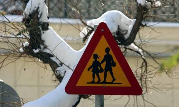 Απόφαση Δημάρχου για το κλείσιμο των σχολείων την Τρίτη 10 Ιανουαρίου 2017 στο Δήμο Ρήγα Φεραίου