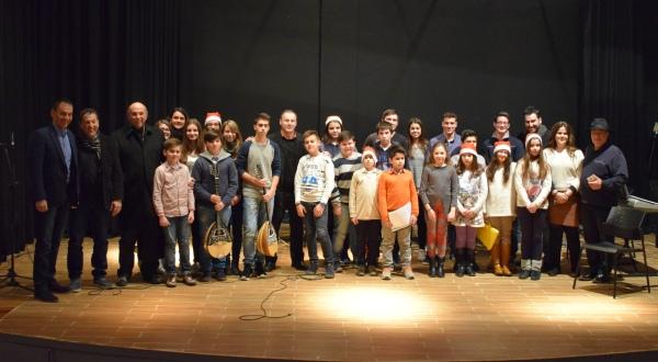 Χριστουγεννιάτικη εκδήλωση από τη Μουσική Σχολή του Δήμου Ρήγα Φεραίου με κοινωνικό χαρακτήρα