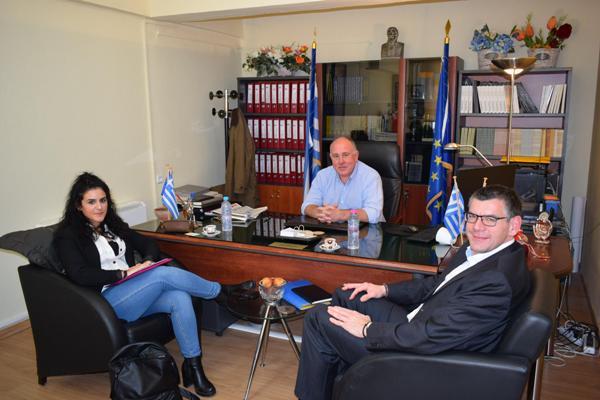 Συνάντηση Δημάρχου Ρήγα Φεραίου με το Δήμαρχο του Δήμο Steinach της Βάδυ-Βυρτεμβέργης