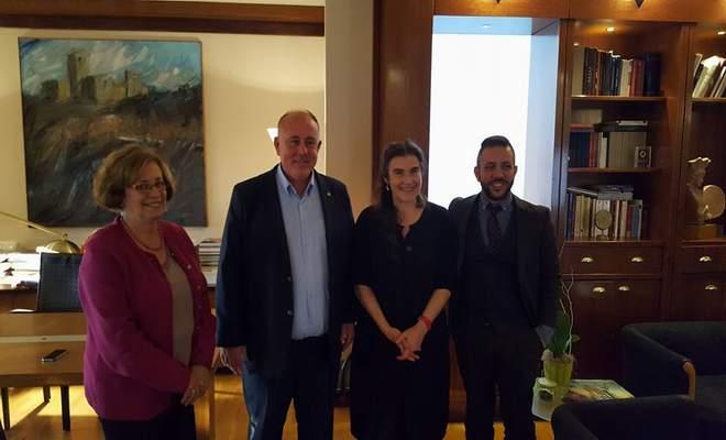Επίσκεψη Δημάρχου στο Υπουργείο Πολιτισμού και Αθλητισμού