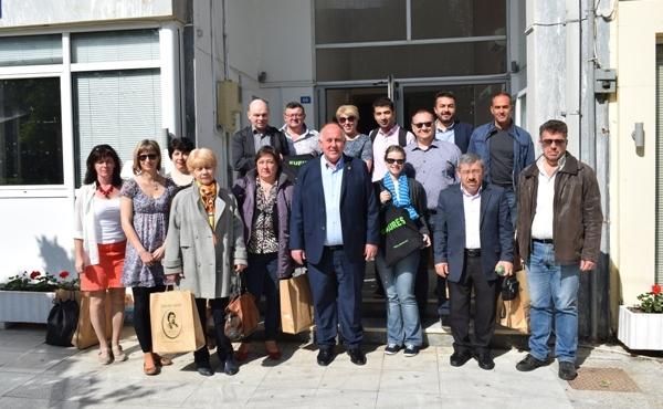 Επίσκεψη καθηγητών Ευρωπαϊκών χωρών στο Δήμο Ρήγα Φεραίου