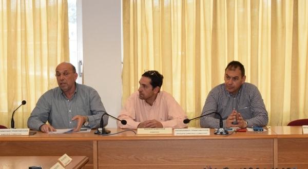 Συνεδρίαση Συντονιστικού Τοπικού Οργάνου Δήμου Ρήγα Φεραίου