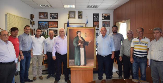 Τίμησαν τον Πρόεδρο του Αγροτικού Συνεταιρισμού Βόλου, κ. Νικήτα Πρίντζο ο Δήμαρχος Ρήγα Φεραίου και επιτροπή του Δήμου