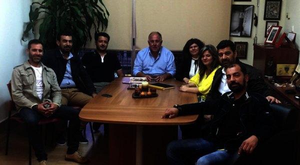 Συνάντηση Δημάρχου Ρήγα Φεραίου με το νέο Δ.Σ. του Συλλόγου Περιβολιωτών Ν. Μαγνησίας