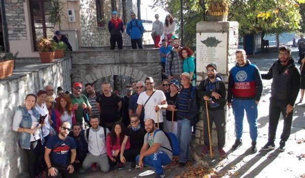 Περιπατητική εξερεύνηση του Κάστρου της Αρχαίας Κασθαναίας Κεραμιδίου