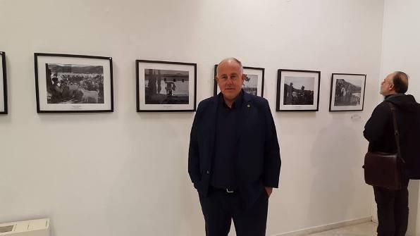 Παρουσία Δημάρχου Ρήγα Φεραίου στην έκθεση Φωτογραφίας με θέμα την «Προπολεμική Κερασιά»