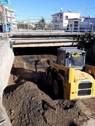 Συντήρηση Αγροτικών Οδών και Καθαρισμός Χαντακίων από το Δήμο Ρήγα Φεραίου