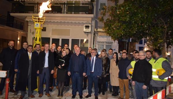 Ένταξη του Βελεστίνου στον Ενεργειακό Χάρτη της χώρας- Τροφοδότηση Φυσικού Αερίου