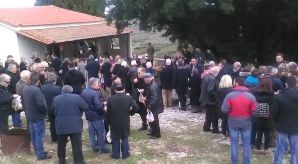 Τίμησαν τη μνήμη των Αγίων Αντωνίου και Αθανασίου στο Δήμο Ρήγα Φεραίου