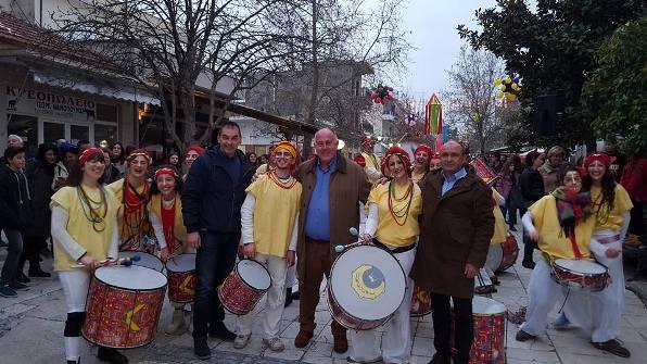 Αποκριά και κούλουμα γιορτάστηκαν στο Δήμο Ρήγα Φεραίου