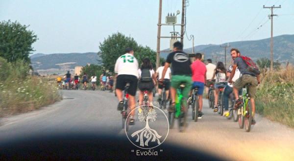 Ποδηλατάδα για την παγκόσμια ημέρα ποδηλάτου από το Σύλλογο Νεολαίας Βελεστίνου