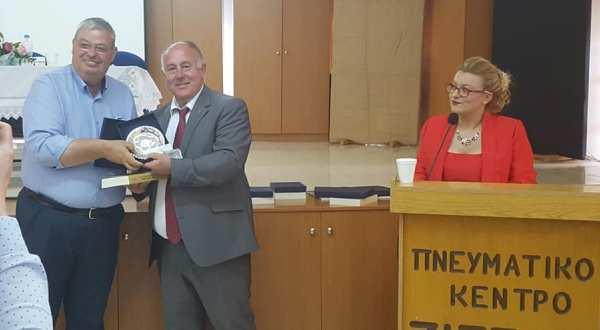 Στις εκδηλώσεις μνήμης του συμμάρτυρα του Ρήγα Βελεστινλή, Δημήτριου Νικολίδη στη Ζίτσα παρευρέθηκε ο Δήμαρχος Ρήγα Φεραίου