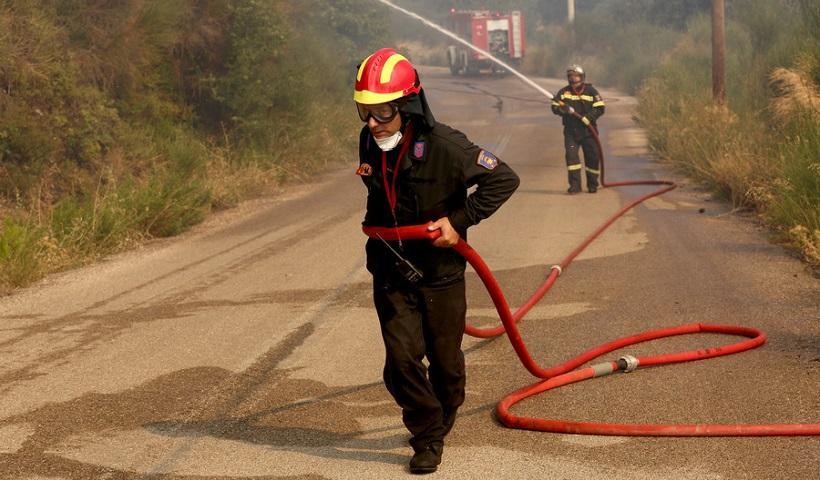 Υψηλός κίνδυνος φωτιάς προβλέπεται τις επομενες μέρες
