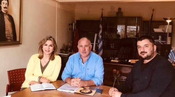 Ικανοποίηση Δημάρχου Ρ. Φεραίου Δημ. Νασίκα για χρηματοδότηση του Ιδρύματος Μελά