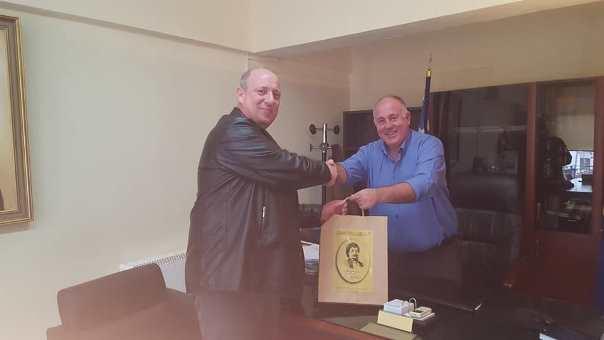 Με τον συντονιστή εκπαιδευτικού έργου συναντήθηκε ο Δήμαρχος Ρήγα Φεραίου – Προτεραιότητα για τη δημοτική αρχή Ρήγα Φεραίου η ομαλή λειτουργία των σχολείων